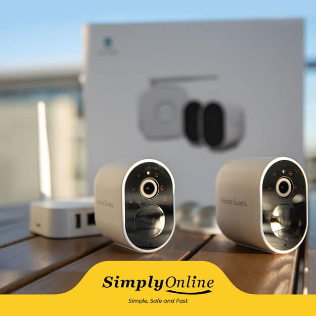 Wireless CCTV camera systems